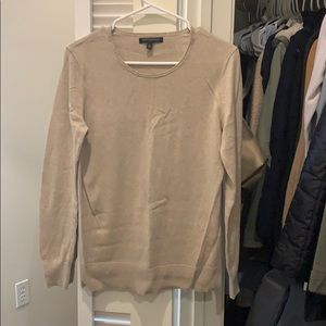 Tan sweater from BR